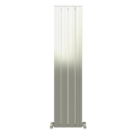 Reina Enzo Vertical Aluminium Radiator - Polished