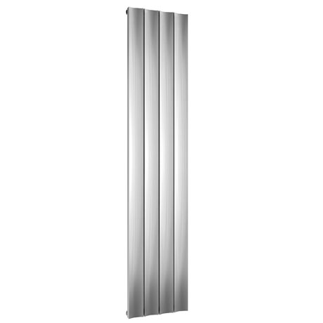 Reina Luca Vertical Single Panel Aluminium Radiator - Polished