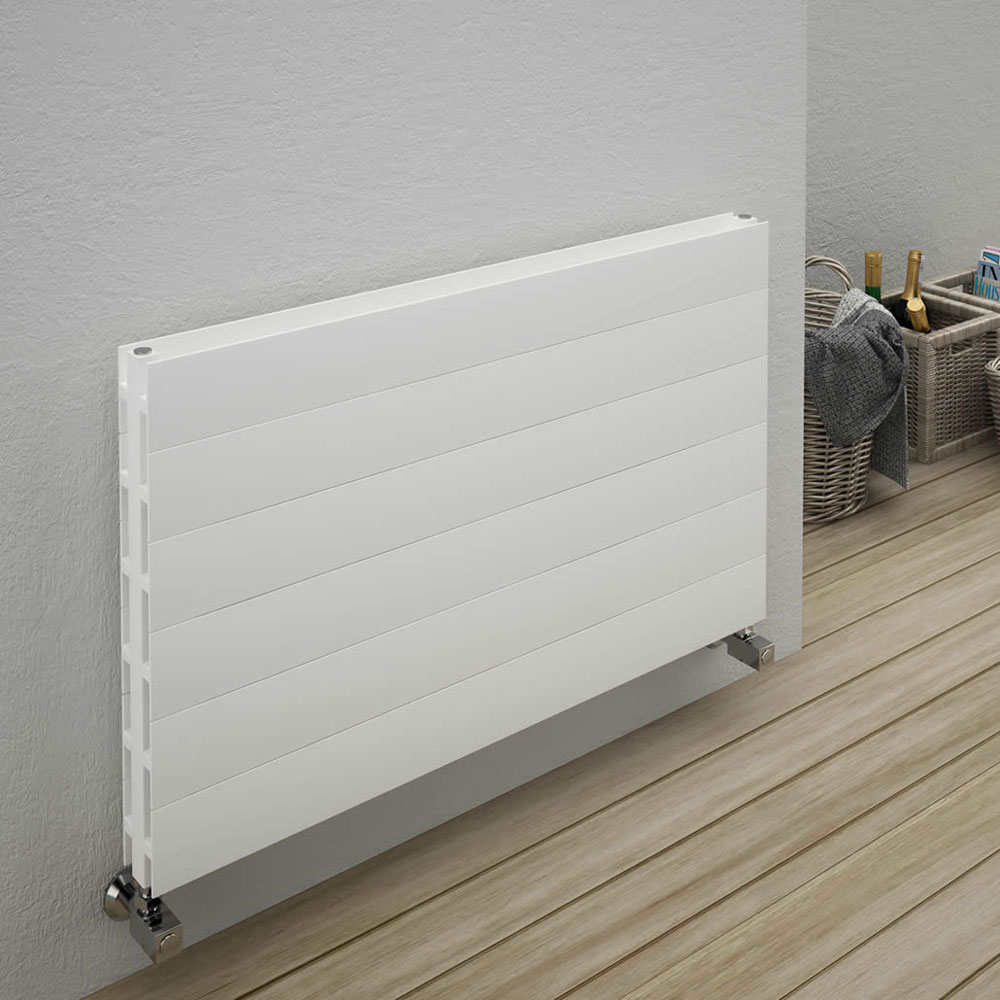 Reina Veno Double Panel Aluminium Radiator - Anthracite Profile Large Image