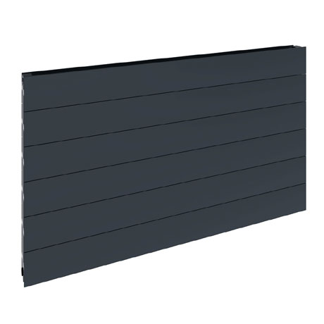 Reina Veno Single Panel Aluminium Radiator - Anthracite