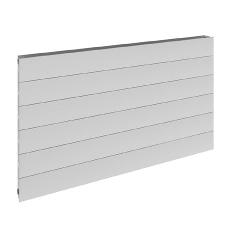 Reina Veno Single Panel Aluminium Radiator - White