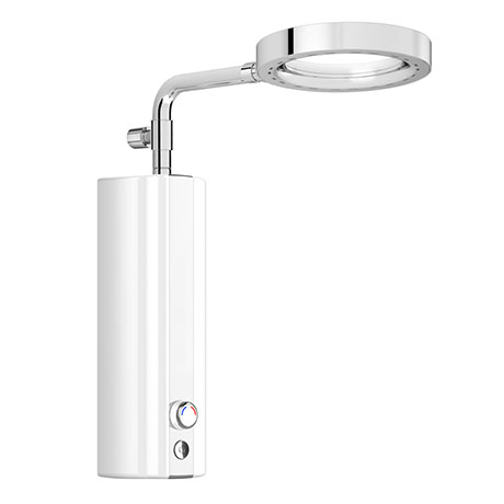 AQUAS AquaMax Top Manual X-Jet 9.5KW White Electric Shower