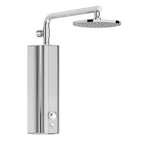 AQUAS AquaMax Top Manual Smart 9.5KW Chrome Electric Shower