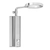 AQUAS AquaMax Top Manual X-Jet 9.5KW Full Chrome Electric Shower profile small image view 1