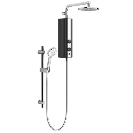 AQUAS AquaMax Flex Manual Smart 9.5KW Black Electric Shower