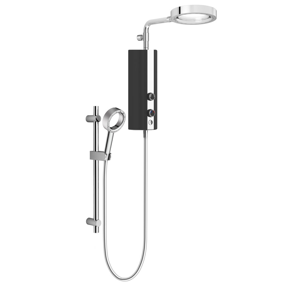 The Swiss made Aquas shower uses forced air mixed with spray to create a whole new showering experience.