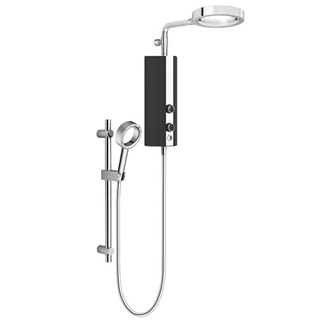 AQUAS AquaMax Flex Manual X-Jet 9.5KW Black Electric Shower