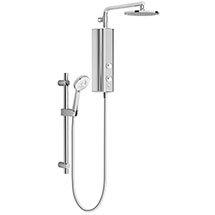 AQUAS AquaMax Flex Manual Smart 9.5KW Full Chrome Electric Shower Medium Image