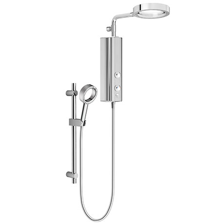 AQUAS AquaMax Flex Manual X-Jet 9.5KW Full Chrome Electric Shower