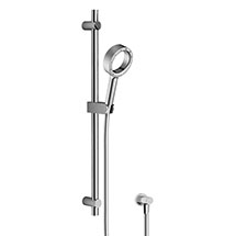 AQUAS Wave Slider Rail Kit with X-Jet Handshower - Chrome Medium Image