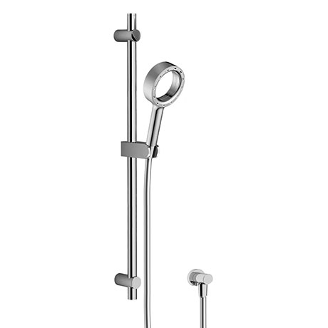 AQUAS Wave Slider Rail Kit with X-Jet Handshower - Chrome