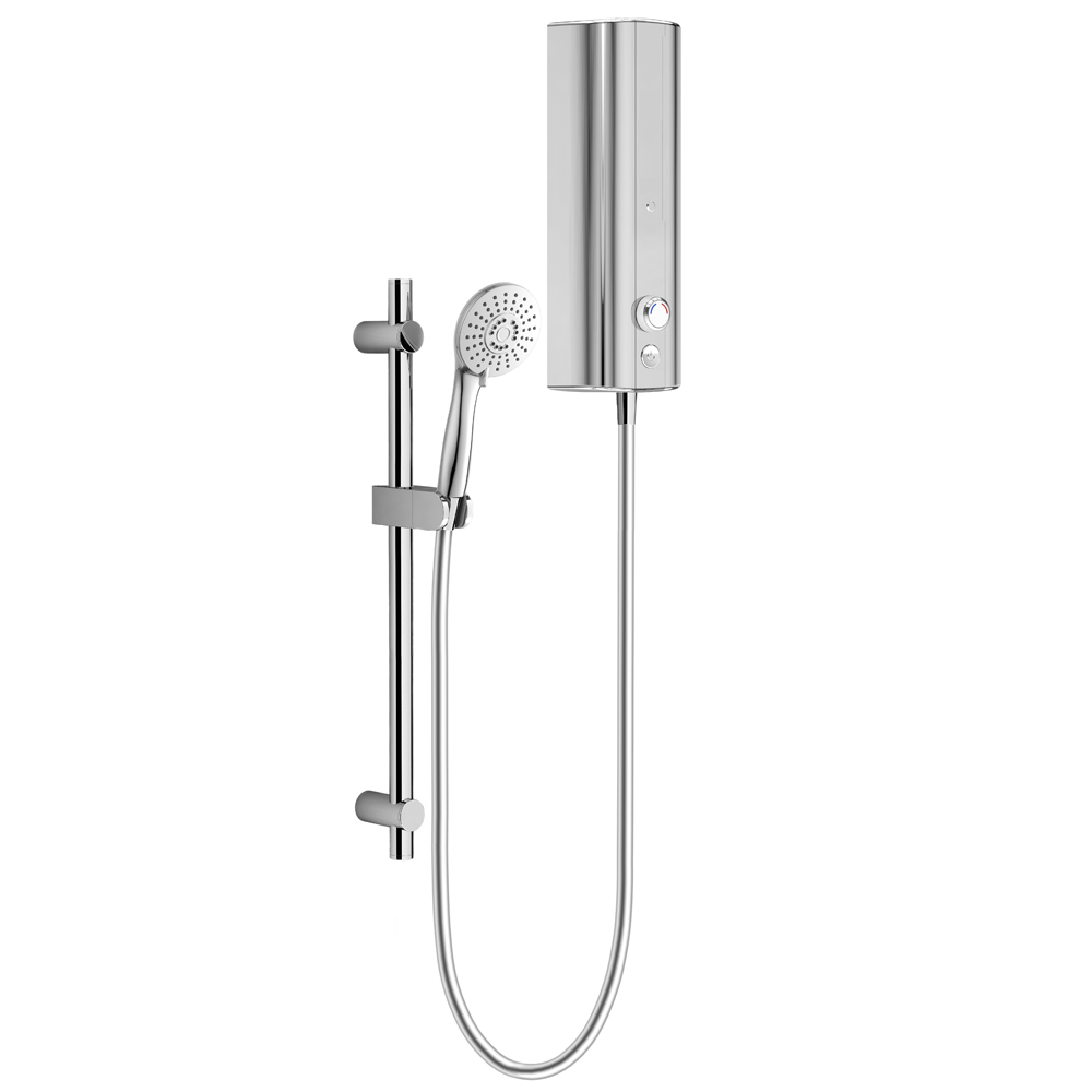 AQUAS Fit Ergo Manual 9.5KW Full Chrome Electric Shower
