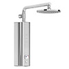 AQUAS Indulge Top Digital Smart 9.5KW Full Chrome Electric Shower profile small image view 1