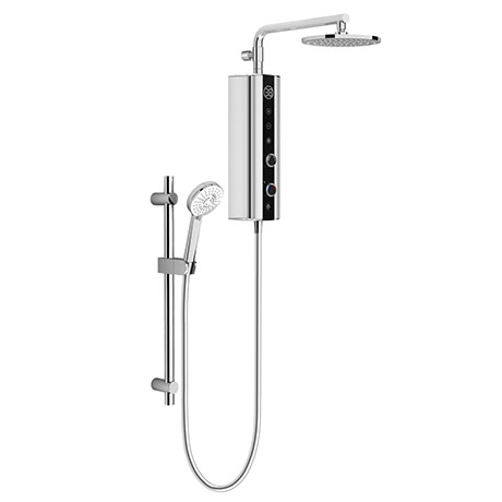AQUAS Indulge Touch Flex Smart 9.5KW Chrome Electric Shower - A000392