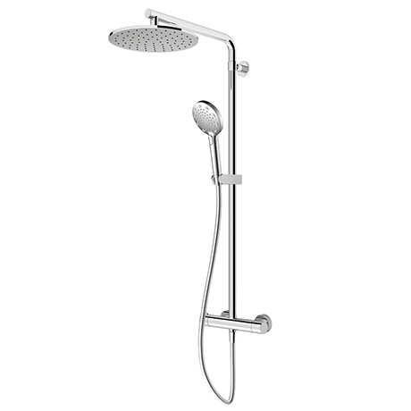 AQUAS Turbo 110 Thermostatic Shower System - Chrome - A000462