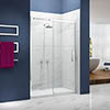 Merlyn Ionic Essence Sliding Shower Door profile small image view 1