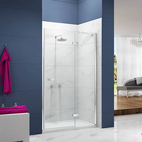 Merlyn Ionic Essence Hinge & Inline Shower Door