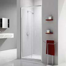 Merlyn Ionic Express Bifold Shower Door Medium Image