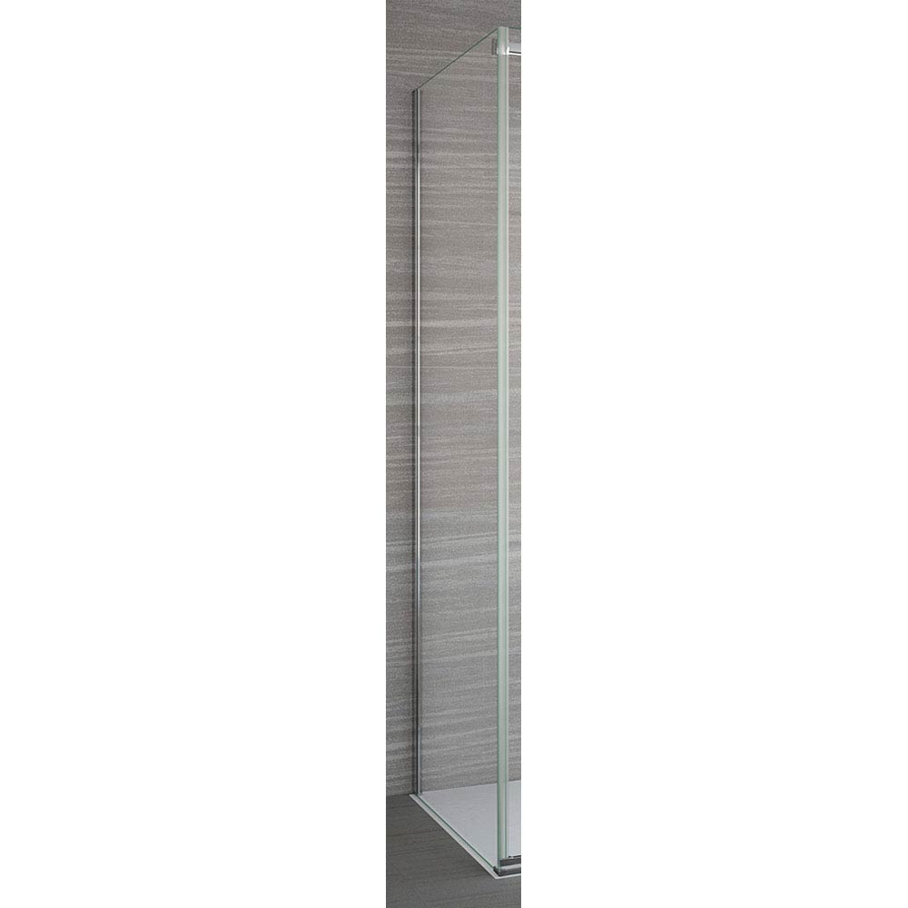 Merlyn 8 Series Frameless Hinge & Inline Side Panel Large Image