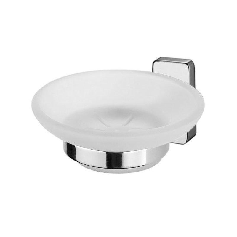 Inda - Storm Soap Dish & Holder - A07110 Large Image