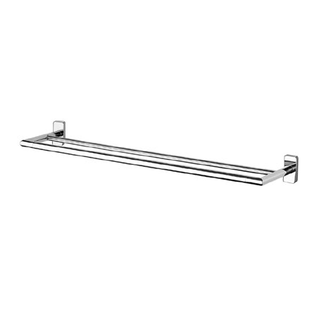 Inda - Storm 660mm Double Towel Rail - A0719C