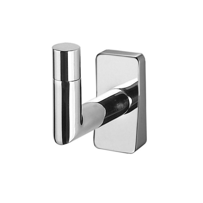 Inda - Storm Single Robe Hook - A0720A profile large image view 1