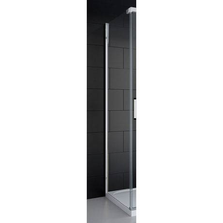 Merlyn 8 Series Colour Side Panel - Polished Chrome