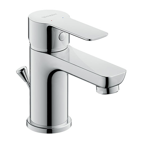 Duravit A.1 S-Size Single Lever Basin Mixer with Pop-up Waste - A11010001010