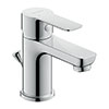 Duravit A.1 S-Size Single Lever Basin Mixer with Pop-up Waste - A11010001010 profile small image view 1