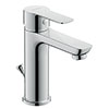 Duravit A.1 M-Size Single Lever Basin Mixer with Pop-up Waste - A11020001010 profile small image view 1