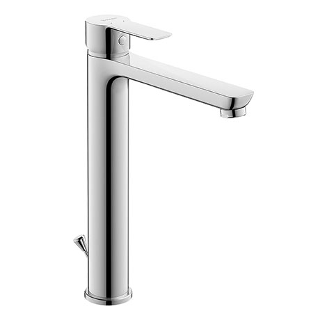 Duravit A.1 XL-Size Single Lever Basin Mixer with Pop-up Waste - A11040001010
