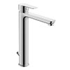 Duravit A.1 XL-Size Single Lever Basin Mixer with Pop-up Waste - A11040001010 profile small image view 1