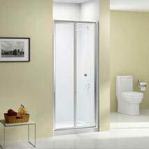 Merlyn Ionic Source Bifold Shower Door Medium Image