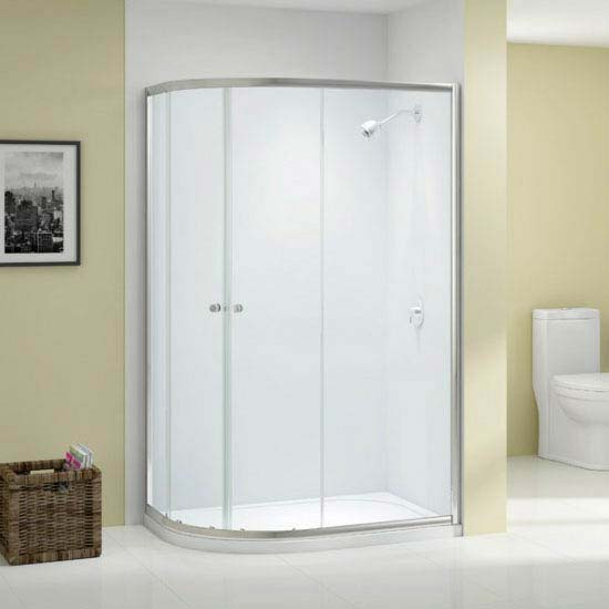Merlyn Ionic Source 2 Door Offset Quadrant Enclosure (1000 x 800mm) profile large image view 1