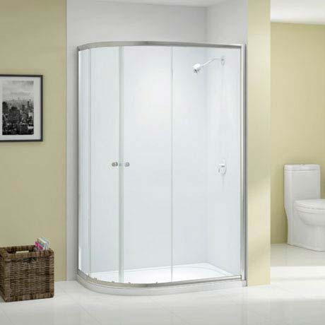 Merlyn Ionic Source 2 Door Offset Quadrant Enclosure (1000 x 800mm)