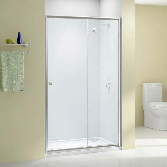 Merlyn Ionic Source Sliding Shower Door profile large image view 1
