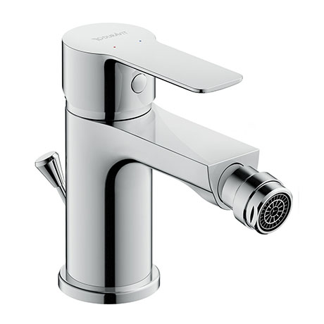Duravit A.1 Single Lever Bidet Mixer with Pop-up Waste - A12400001010
