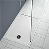 Aurora 1400 x 900mm Anti-Slip Stone Walk In Shower Tray With Drying Area profile small image view 1