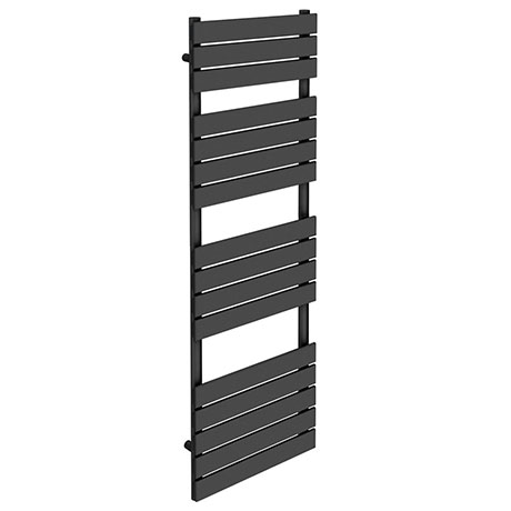 Milan Heated Towel Rail H1600mm x W600mm Anthracite