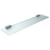 Inda - Lea 600mm Glass Shelf - A18090CR21 profile small image view 1
