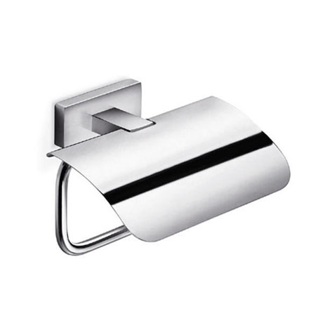 Inda - Lea Toilet Roll Holder with Cover - A1926A