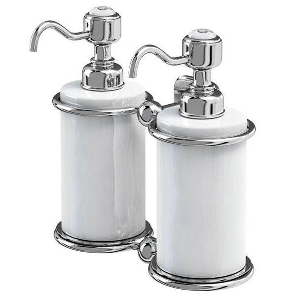 Burlington Double Soap Dispenser A20chr At Victorian