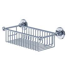 Burlington - Chrome Deep Rectangular Basket - A23CHR Medium Image
