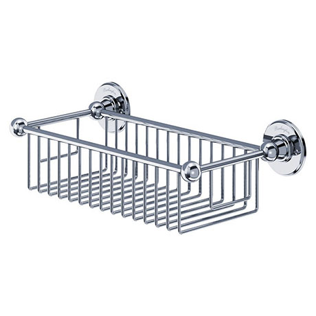 Burlington - Chrome Deep Rectangular Basket - A23CHR