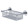Burlington - Chrome Deep Rectangular Basket - A23CHR Small Image