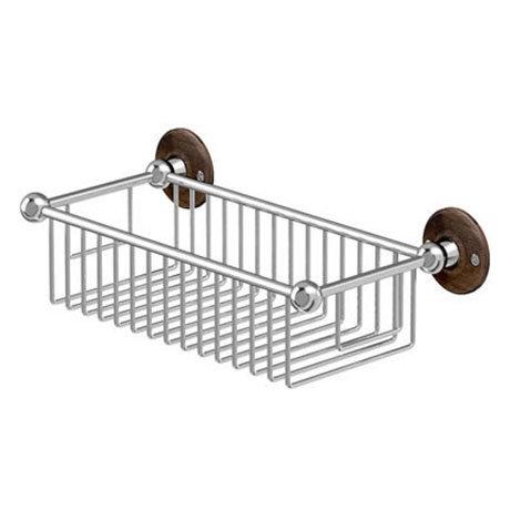 Burlington Deep Rectangular Basket - Walnut - A23WAL