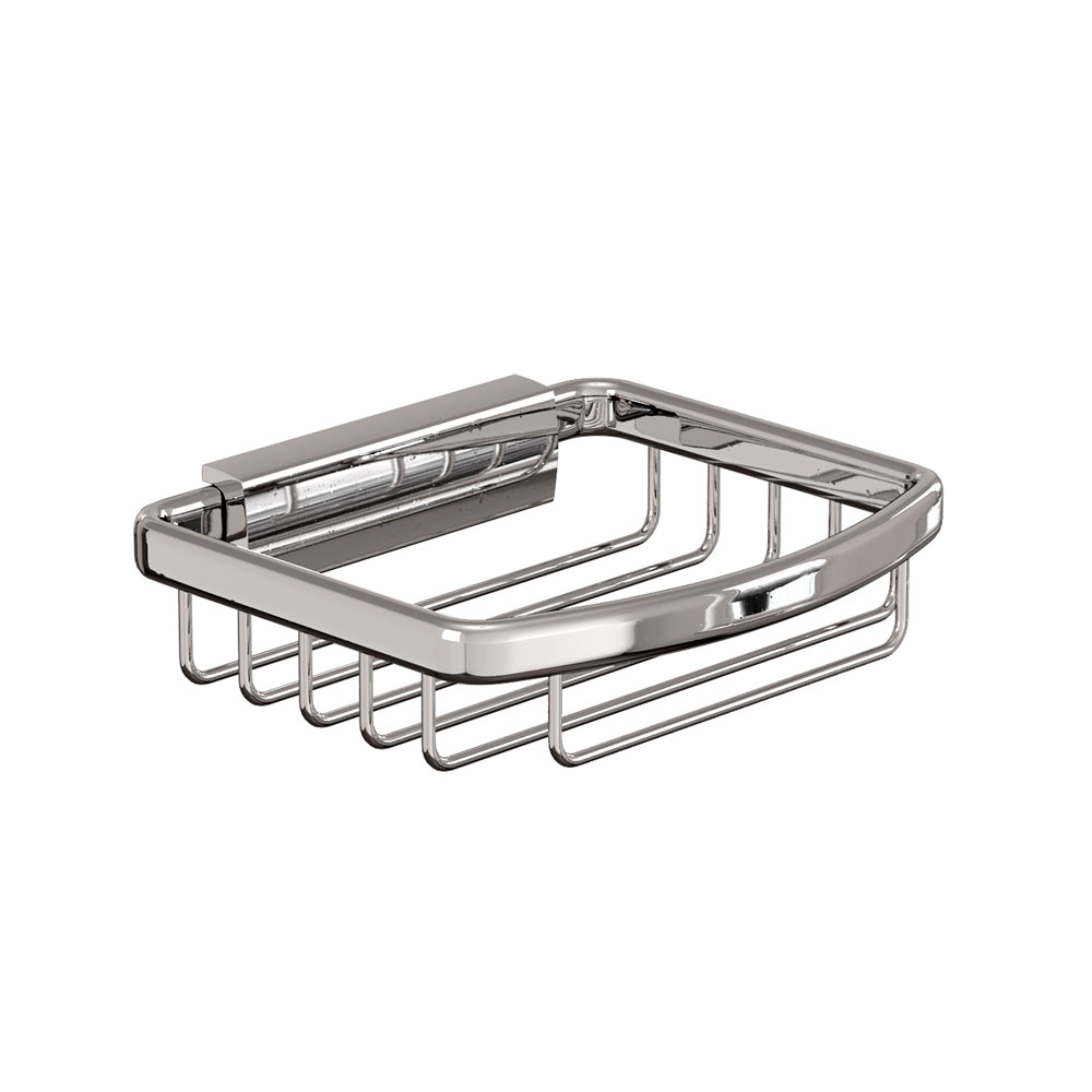 Britton Bathrooms - Small Rectangular Wire Basket Large Image