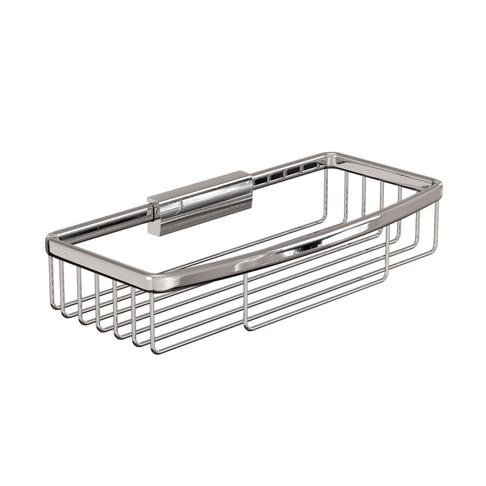 Britton Bathrooms - Large Rectangular Wire Basket Large Image