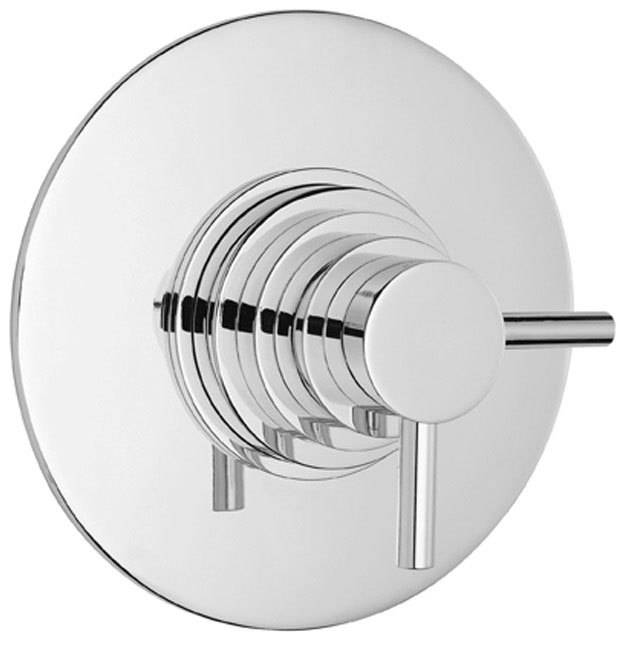 Ultra Spirit Concealed Dual Thermostatic Shower Valve - Chrome - A3095C profile large image view 1