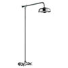 Hudson Reed Traditional Thermostatic Shower Valve with Rigid Riser & Fixed Head - A3118 profile small image view 1